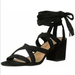 Lucky Brand | Ankle wrap strap heel